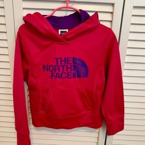 Girls North Face Sweatshirt: Size 5